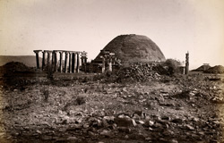 General view of Sanchi Tope from south